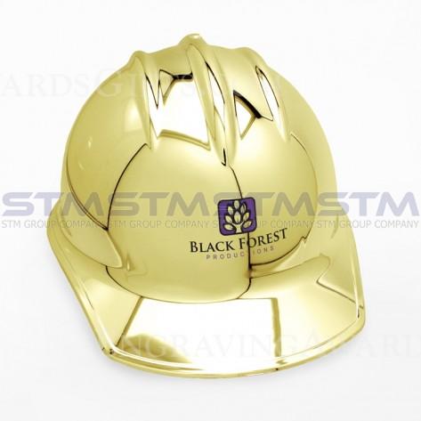 安全帽 金色